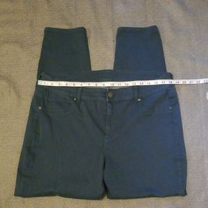 Maurices teal jegging